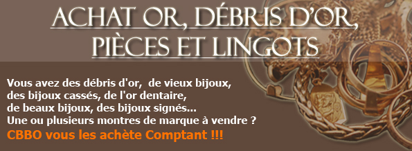 Achat or, dbris d'or, pices et lingots