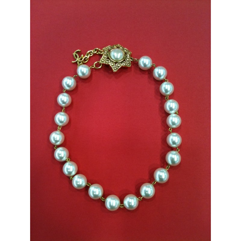 collier perle channel