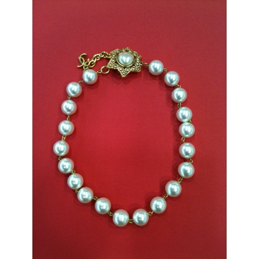 Collier perles Chanel