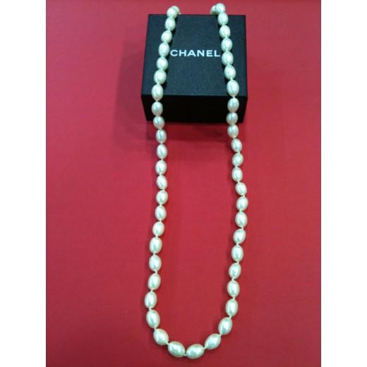 Sautoir Chanel perles