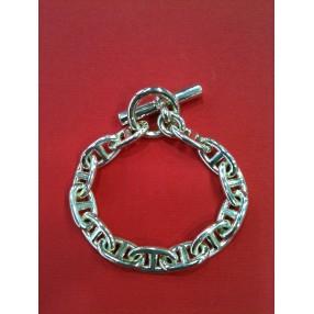 Bracelet Hermès Chaîne d encre en argent 034ca7d0516