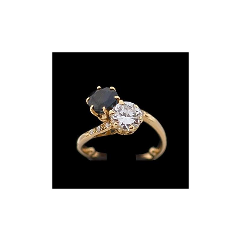 bague diamant monture moderne