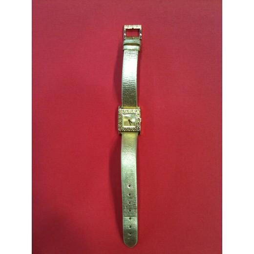Montre Christian Dior en plaqué or.