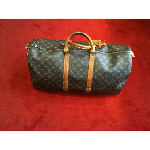 ddaf02bd3c56 Sac de voyage Louis Vuitton Keepall 55