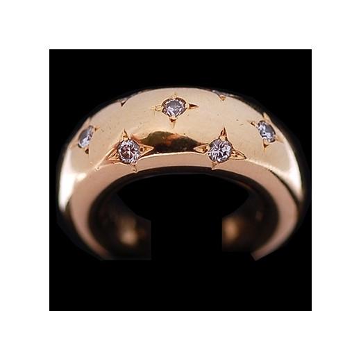 bague diamant etoile