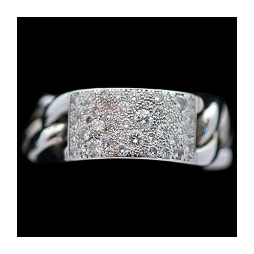 Bague Dior Gourmette en or et diamants
