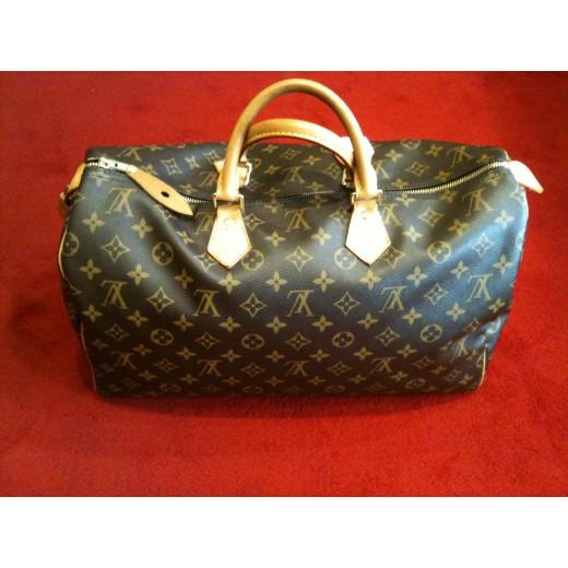375cc814f0 Sac Louis Vuitton Speedy 40 en toile monogram