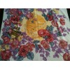 Foulard Christian Dior Fleurs en soie