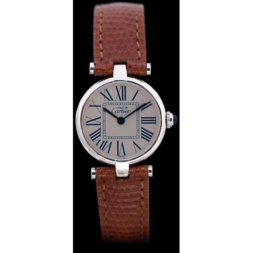 Montre Cartier Must Vendôme en argent