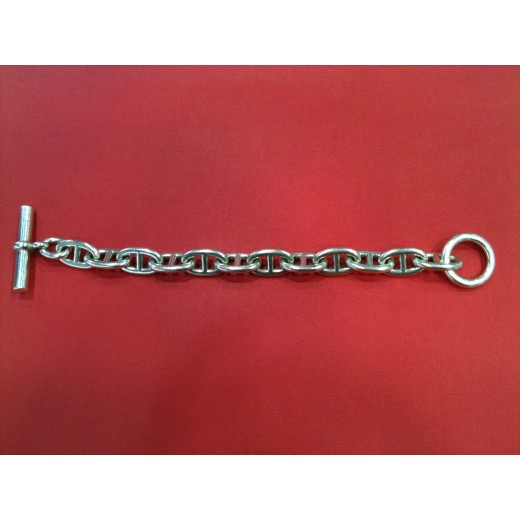 ... wholesale bracelet hermès chaîne dancre gm en argent 5d788 b512a f31d55dd913