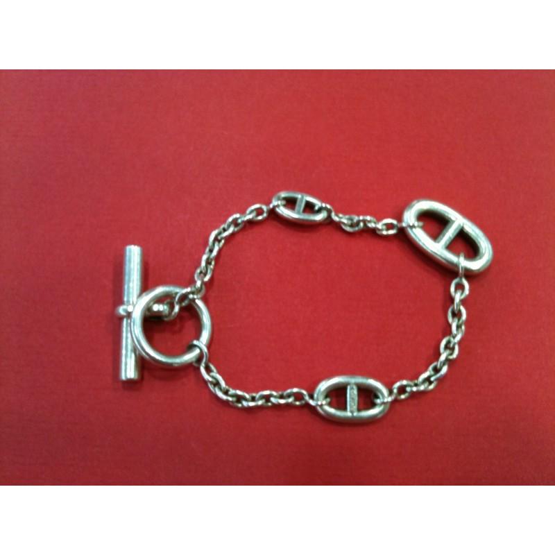 f6def01ad7aa Bracelet Hermès Farandole en argent