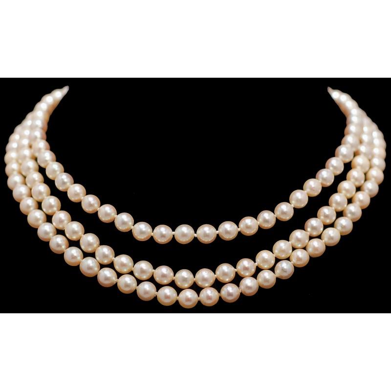 collier perle nacre ancien