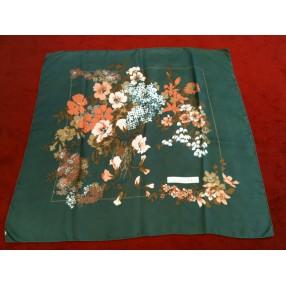 fb17b963287a Foulard Dior Fleurs en soie