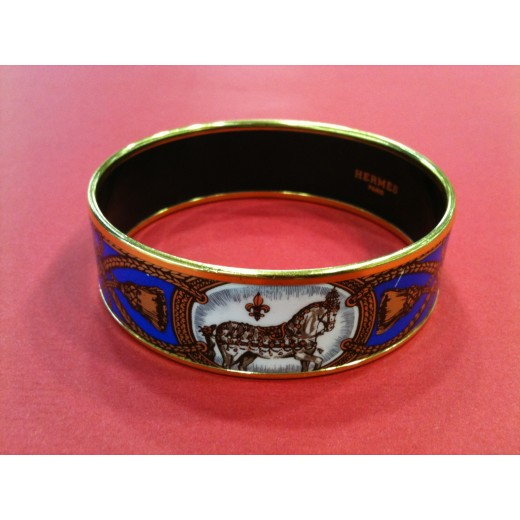 0db4b4b3362f Bracelet Hermès Cheval d Apparat en émail