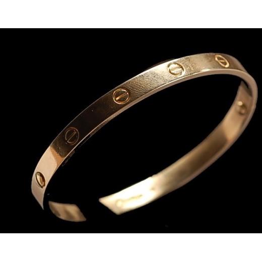 bracelet cartier plaqué or