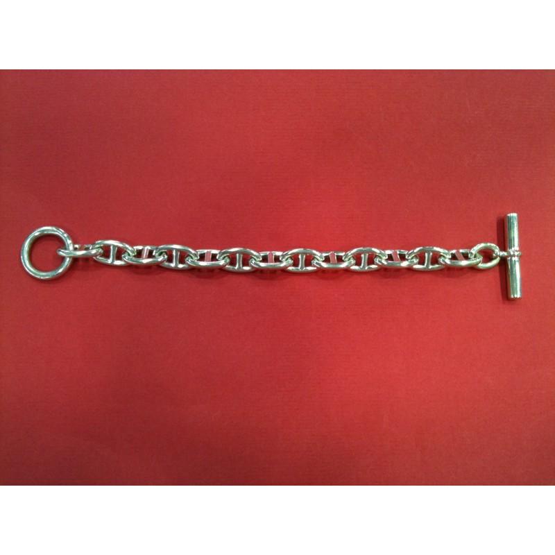 43d84bc6210d Bracelet Hermès Chaîne d ancre GM en argent
