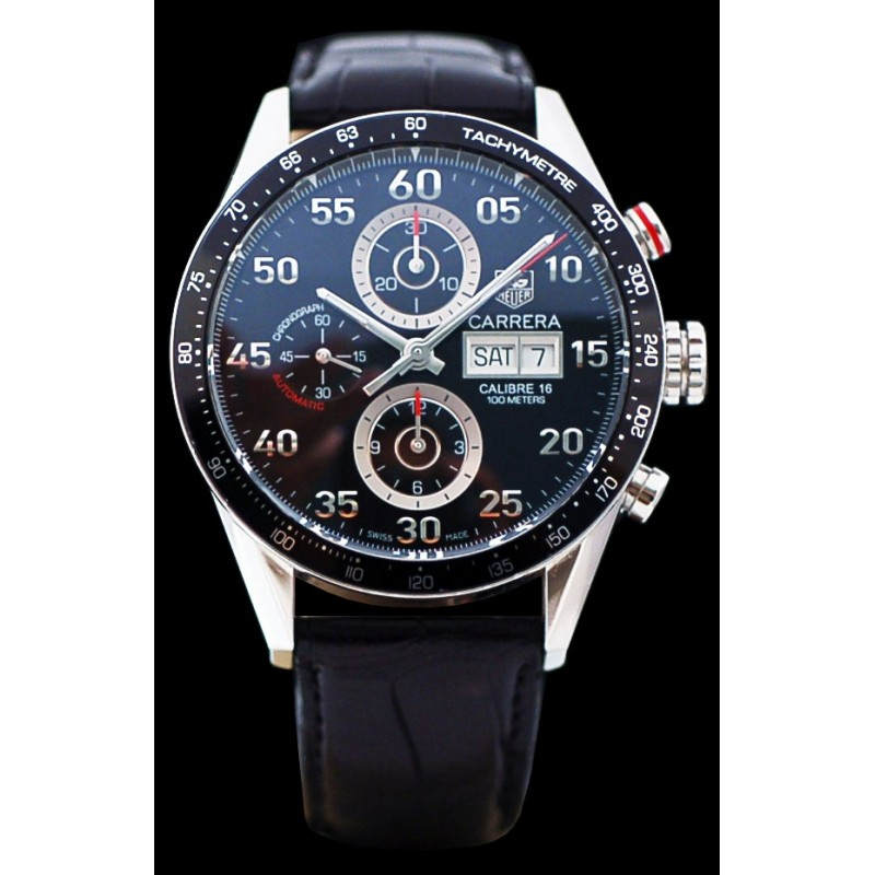 Montre Tag Heuer Carrera Chronographe Day Date