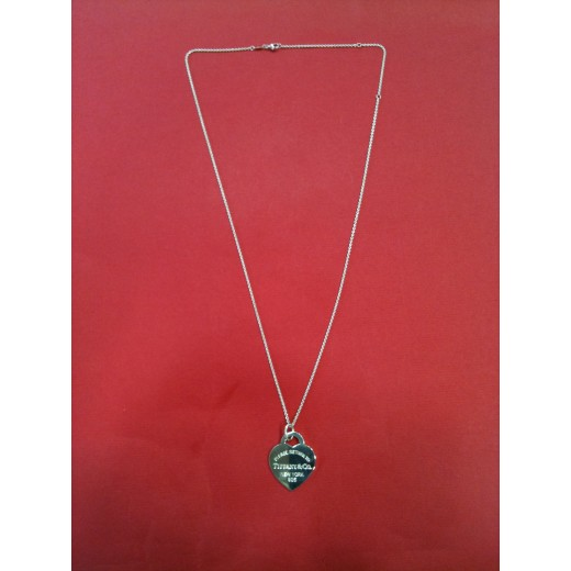 collier argent tiffany co