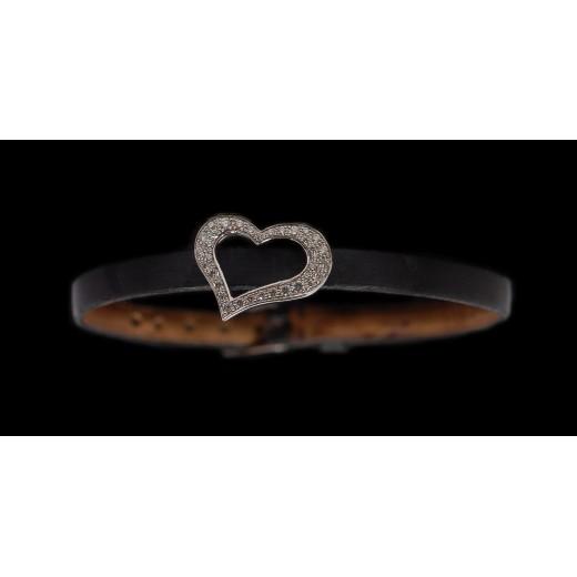 Bracelet Coeurs Piaget en Or et Diamants