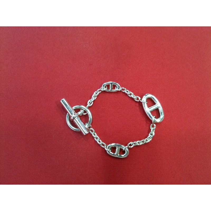Bracelet Hermès Farandole en argent. Vendu f9597e6e2d2