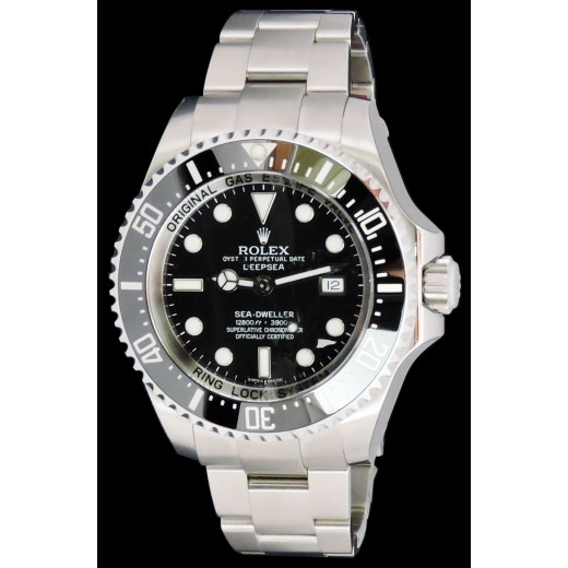Neuve Deepsea Montre Ln Céramique Rolex yYf76gb