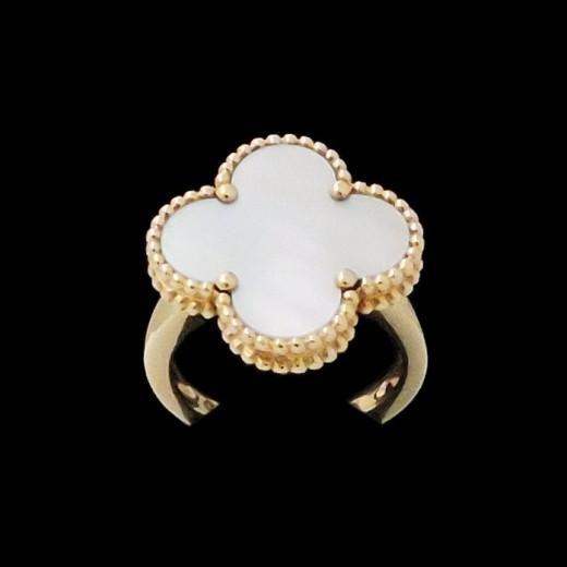 parcourir les dernières collections meilleur pas cher bon out x Bague Van Cleef & Arpels Magic Alhambra Nacre