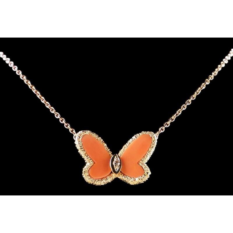 c5721eef5d5 Collier Van Cleef   Arpels Alhambra Papillon