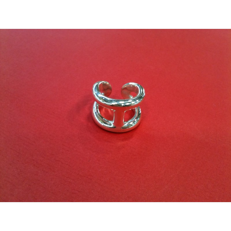 incredible prices factory price official store Bague Hermès Osmose en argent