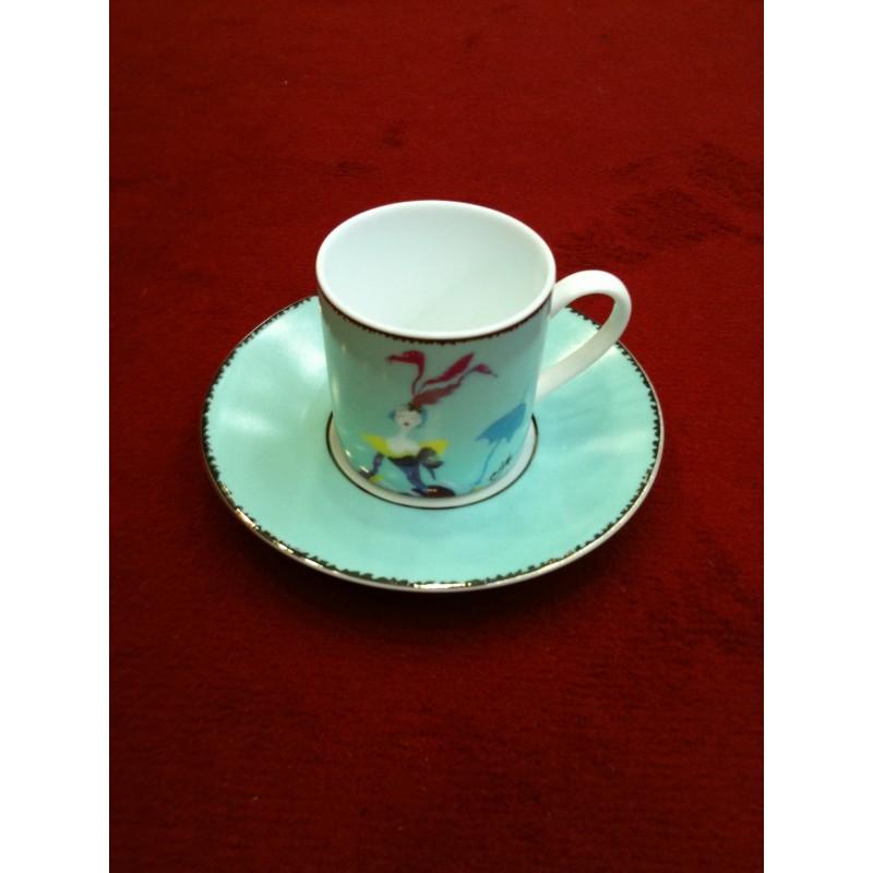 Tasses à café et leurs soucoupes Christian Lacroix 5 Continents 412c4fb2479