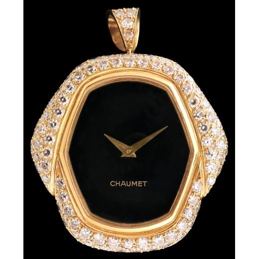 Montre Pendentif Chaumet Diamants