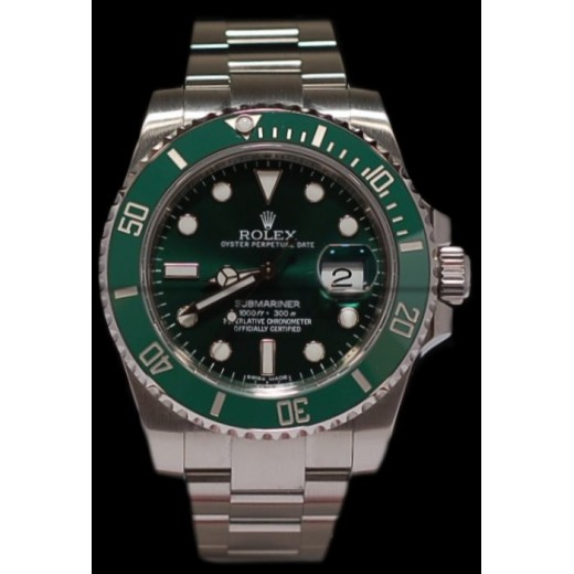 Verte Rolex Lunette Céramique Submariner Montre 8vmNnw0