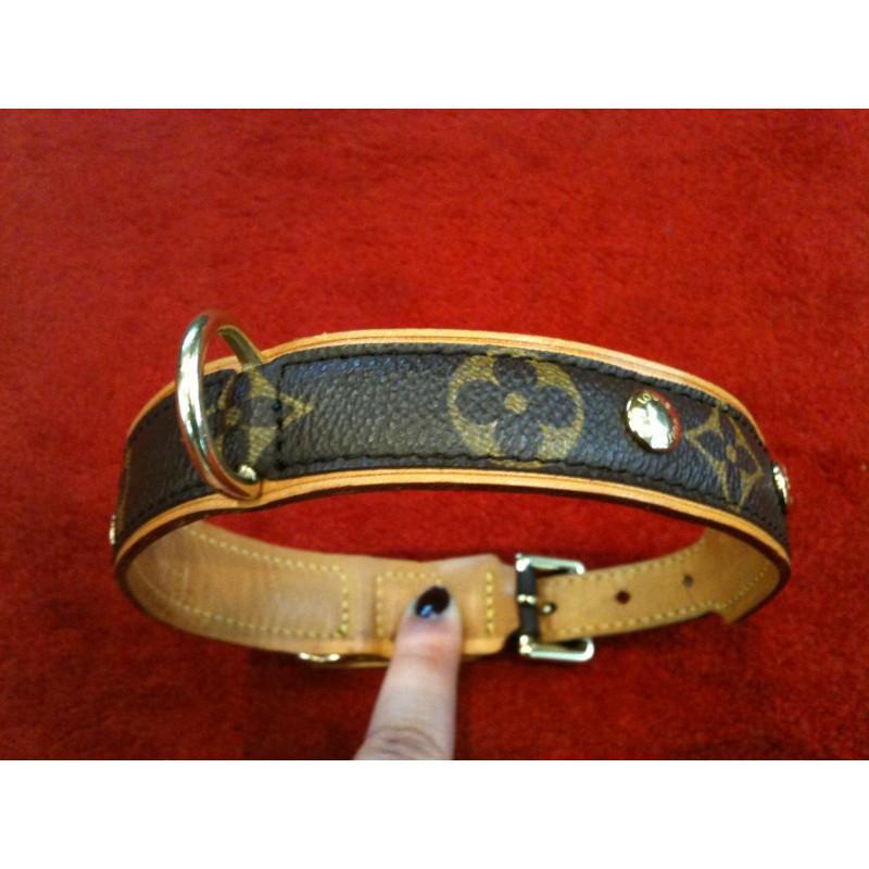 8ff96b3ccdf Collier de Chien Louis Vuitton Baxter MM en toile monogram. Vendu