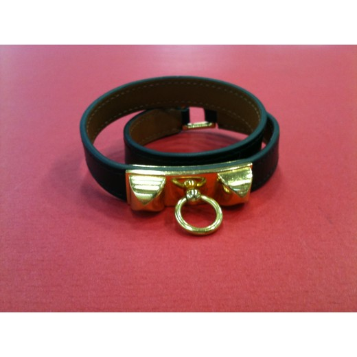 ... coupon for bracelet hermès rivale double tour en cuir noir 05fd9 961e2 95315668921