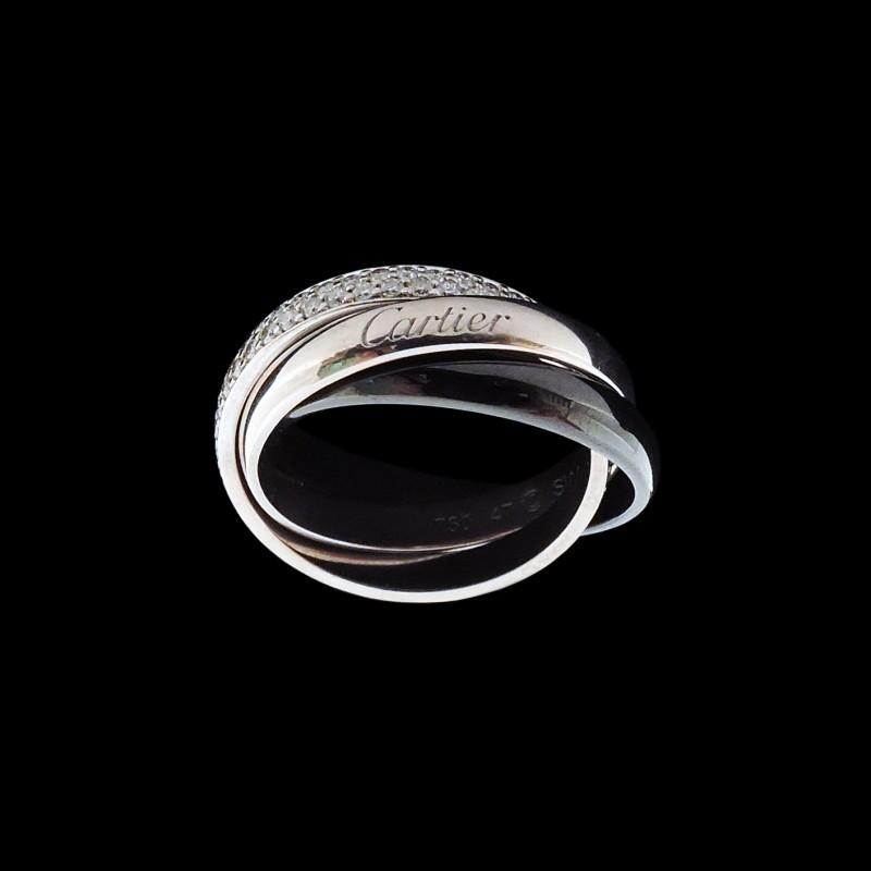 bague diamant noir cartier