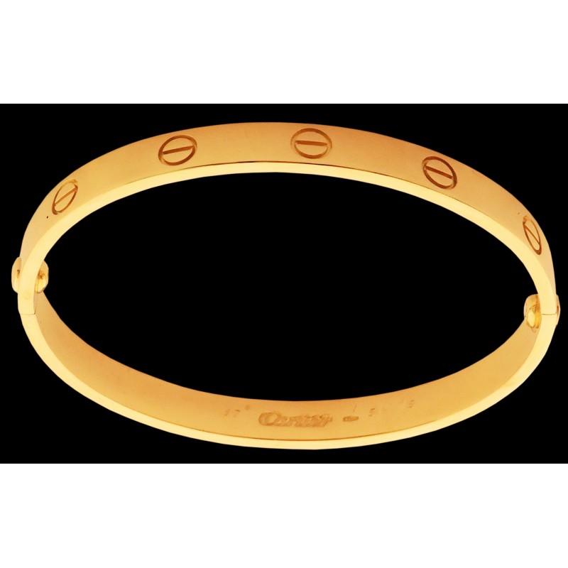 bracelet cartier love taille 17. Black Bedroom Furniture Sets. Home Design Ideas
