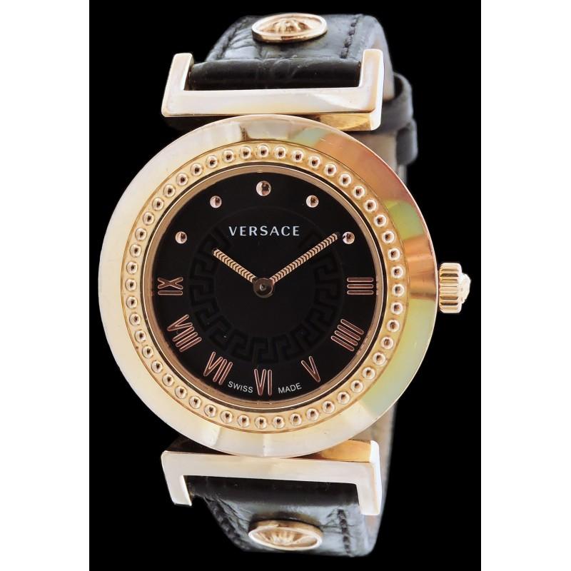 2019 original style top magasiner pour l'original Montre Versace 35mm en plaqué or