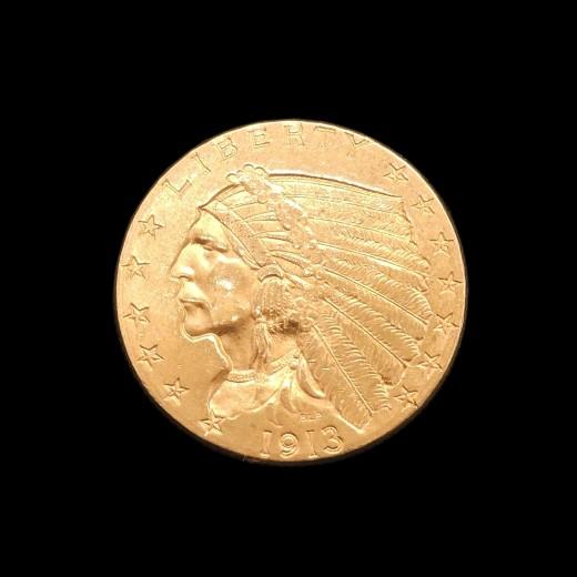1195d0e1a134 Pièce d or 2 1 2 dollars Etats-Unis d Amérique