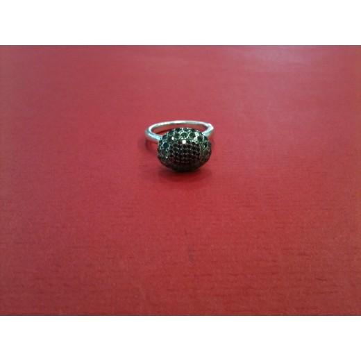 Bague Rosa Maria en argent avec diamants et rubis