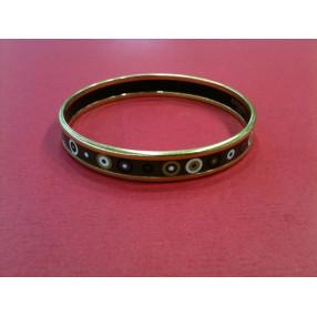 Bracelet manchette rivière diamants et pierres précieuses 483623a82be