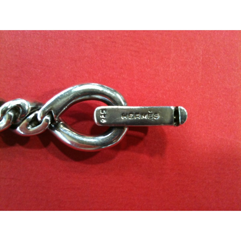 Bracelet Hermès Torsade en argent. Vendu bbf0652a60d