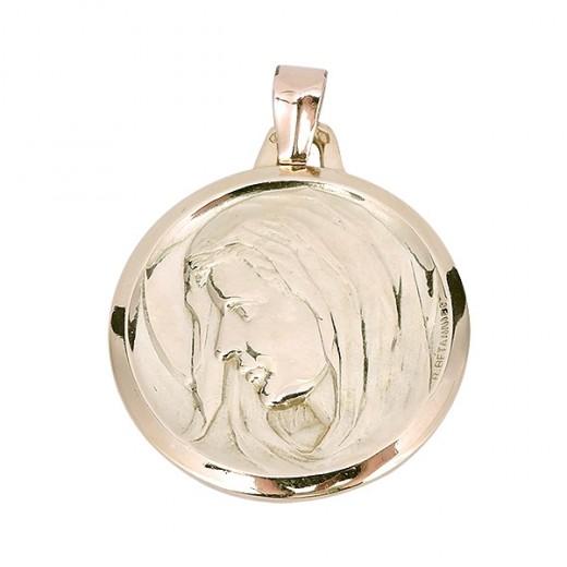Médaille de la vierge en or 18 K