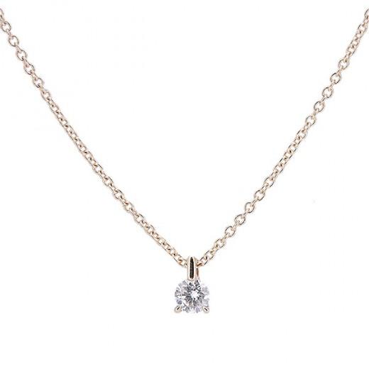 sélectionner pour le dédouanement nouvelle sélection gamme complète de spécifications ras de cou en or jaune 18 K et diamant
