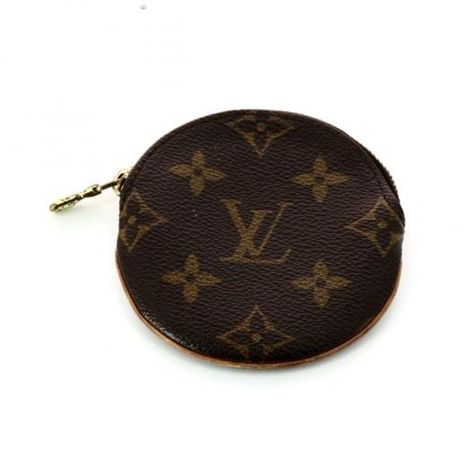 Porte monnaie Louis Vuitton Rond en toile monogram 1eaf2bafcda