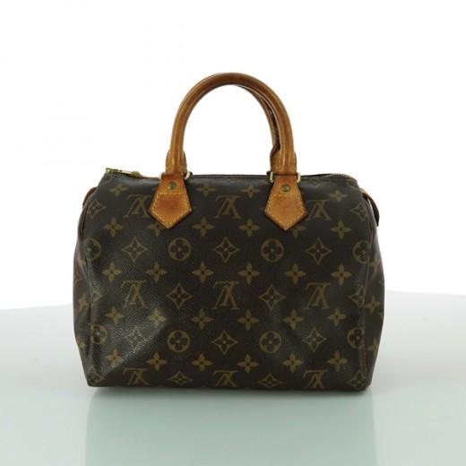 2b558f4c287 Sac Louis Vuitton Speedy 25 en toile monogram