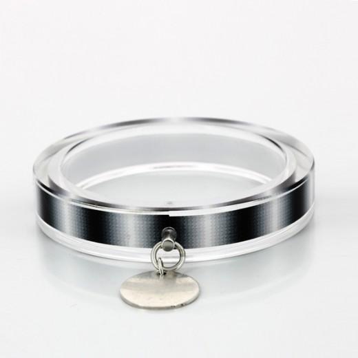 Bracelet Marc Deloche en argent et résine