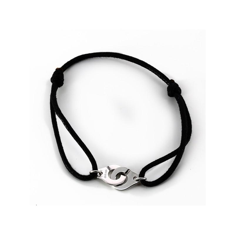 74a39009ff0 Bracelet Dinh Van Menottes R10 en or blanc