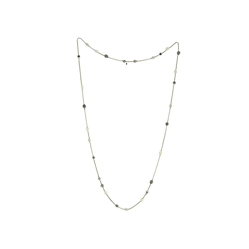 Sautoir Chanel Vintage en métal doré et perles. - Très bon état - 2a65d180344