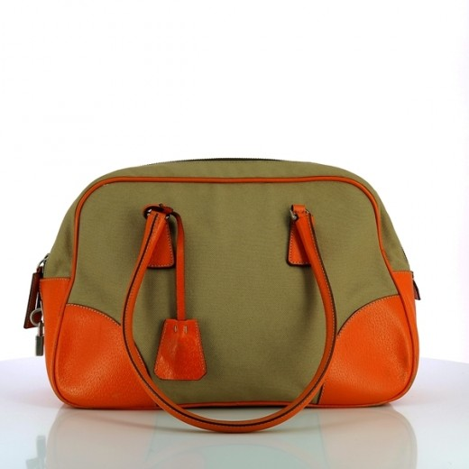 Sac Prada Bowling orange af2147fb18a
