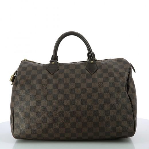 Sac Louis Vuitton Speedy 35 en toile damier 442da0dafa0