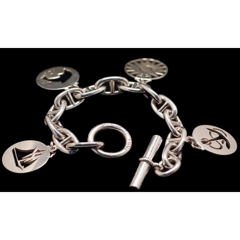 1a825fcf3d Bracelet HERMES en Argent, occasion HERMES chez CBBO Bordeaux